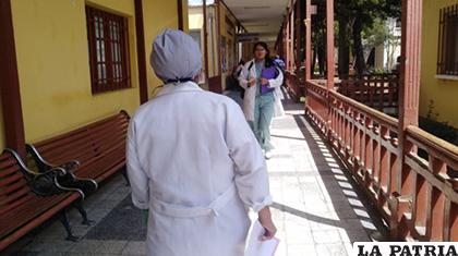 Médicos del sector público en el Hospital de Clínicas /ANF