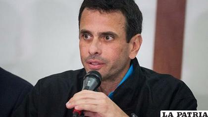 El excandidato presidencial venezolano Henrique Capriles /EFE