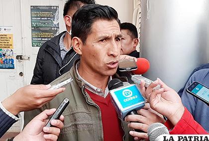 David Mollinedo señala que continúa siendo presidente del Comité Cívico /LA PATRIA