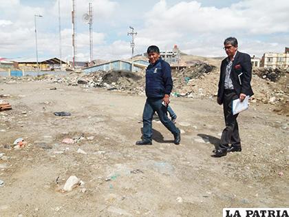 Se consolida un paso más para la construcción del Palacio de Justicia de Oruro /LA PATRIA /ARCHIVO