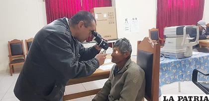 Un 80 por ciento de los problemas de la vista pueden solucionarse /LA PATRIA