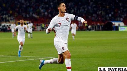 Cristiano Ronaldo y su objetivo de superar a Ali Daei /iusport.com