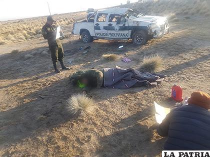 Aún se investiga porqué el conductor perdió el control del vehículo /LA PATRIA