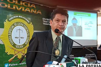 El coronel Bustillos dio el informe del caso /María Estela Choque