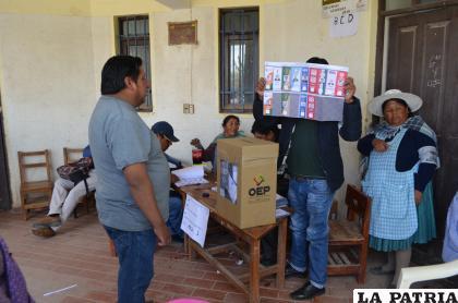 Buscan garantizar el proceso electoral /LA PATRIA /archivo
