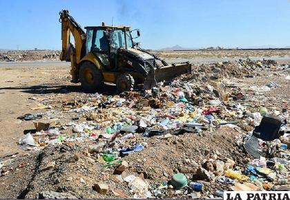El manejo adecuado de residuos sólidos es otro tema que atinge a la agenda ambiental /GAMO
