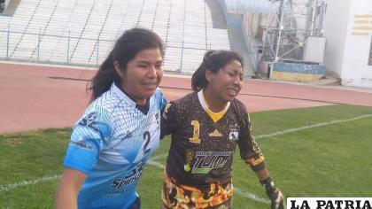 Pamela Arroyo y Elizabeth Solares serán parte fundamental del equipo orureño /LA PATRIA