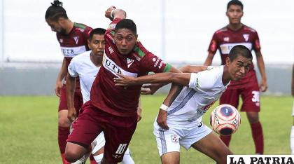 """El """"millonario"""" ganó en la ida 3-2 en Santa Cruz el 3 de abril de 2021 /APG"""