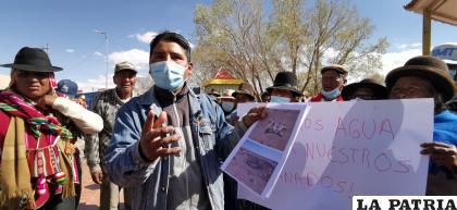 Denuncian escasez de agua y piden ayuda /LA PATRIA