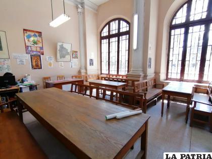 No existen todavía medidas de bioseguridad para reabrir la Biblioteca Municipal de Oruro /LA PATRIA