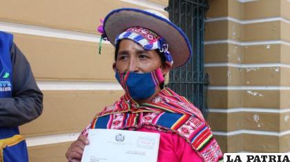 La exdiputada del Movimiento Al Socialismo (MAS) Lidia Patty /ARCHIVO OPINIÓN