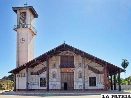 La Diócesis de San Ignacio cede una superficie de 10.135,73 metros cuadrados, por el precio simbólico de un boliviano /Archivo internet