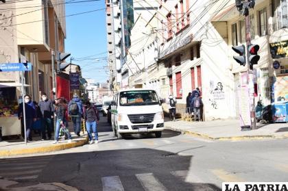En el departamento de Oruro, existe una desescalada de casos, pero la pandemia no termina /LA PATRIA