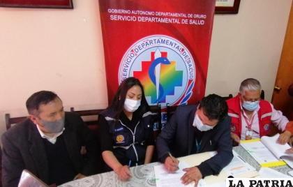 Firma de acuerdo colaborativo entre el Sedes y ProSalud /LA PATRIA