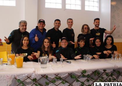 Elenco de Fico's Show promete un derecho de risas /LA PATRIA