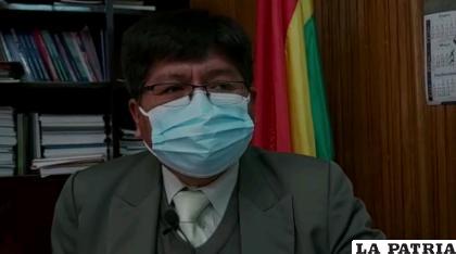 Vicerrector de la UTO, Edgar Chire /UTO