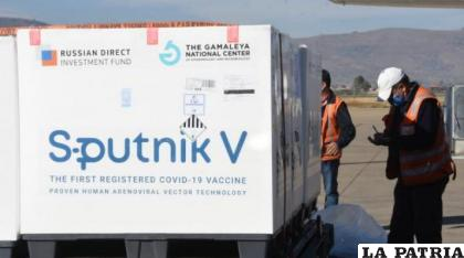 Las segundas dosis de la vacuna Sputnik V.  /Daniel James
