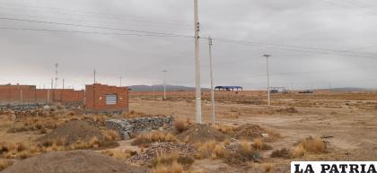 Construcciones en proximidades del Puerto Seco  /LA PATRIA
