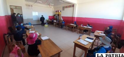 Desde hace meses retornaron a las aulas en medio de necesidades /LA PATRIA