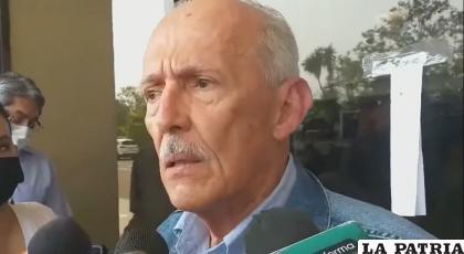 El empresario cruceño José Luis Camacho /Captura de pantalla