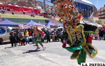 La Diablada fue parte de la I Feria Nacional de Turismo /LA PATRIA