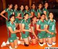 Selección de voleibol de La Paz, ocupó el segundo lugar en el torneo nacional que ayer concluyó.