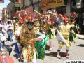 FNI es la delegación más numerosa en la entrada folklórica universitaria
