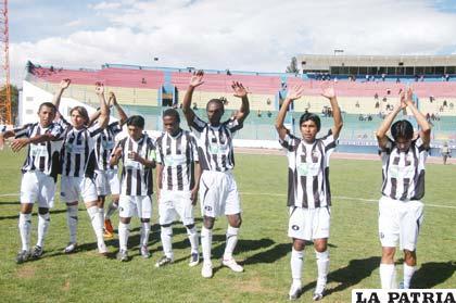 Jugadores de Oruro Royal