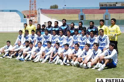 Foto oficial del Club San José tomada ayer