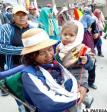 La fuerza y coraje de las mujeres se demostró en la marcha por el Tipnis