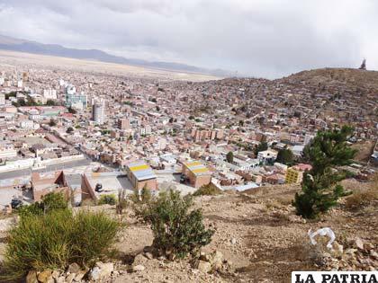 Oruro debe propender a constituirse en una ciudad ecológicamente sustentable