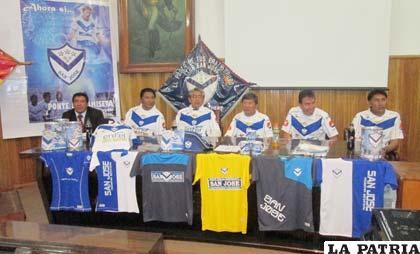 Durante la presentación de la campaña Ponte la Camiseta