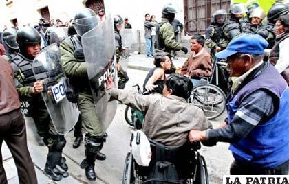 Defensoría reclama por los derechos de los discapacitados (APG)