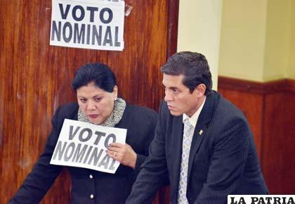 Norma Piérola pide transparencia en la elección del Fiscal General /redactuandobolivia.com