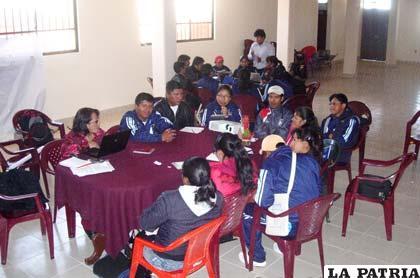 Coordinadores municipales del Programa de Alfabetización y Post Alfabetización compartieron experiencias