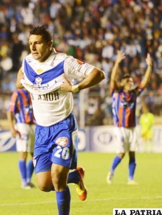 Ruiz anotó el gol del empate para San José