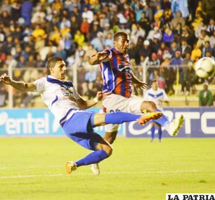 Cristian Ruiz ingresó y anotó el gol del empate para San José