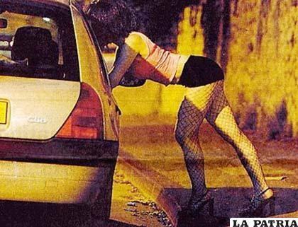 La prostitución callejera se ejerce en casi todo el mundo