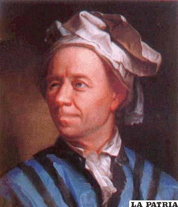 Leonhard Euler, físico y matemático suizo