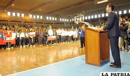 La inauguración de los juegos el 2011 fue en Salta