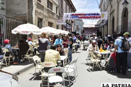 La campaña se cerró con una kermesse donde participaron los hinchas de San José