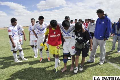La lesión de Isaías Dury ocurrió el domingo
