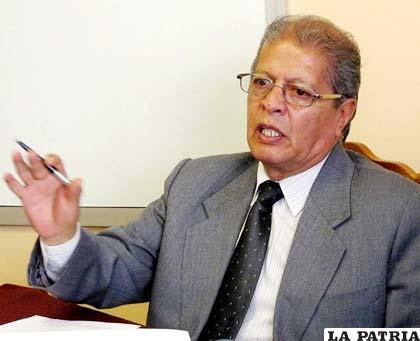 El director ejecutivo de la ANP, Juan León Cornejo (eldiario.net)