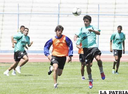 Los jugadores de San José culminaron ayer su trabajo de preparación