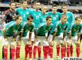 Jugadores de la selección mexicana (foto: ligabbva.com)