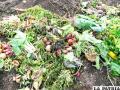 Basura generada en hogares de El Alto realizan trabajo de compost /ison21.es