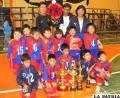 El equipo del kínder 12 de Abril campeones en fútbol de salón