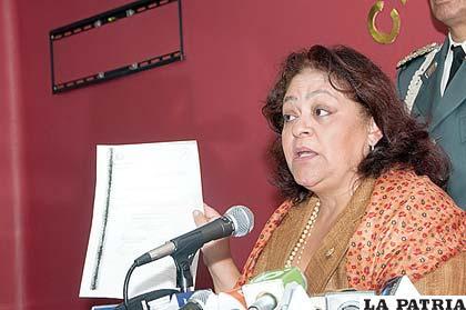 Presidenta de Diputados dice que coadyuvarán a investigar en caso narco-libanés