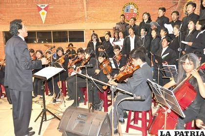 Filarmónica de Oruro representará al departamento en concurso nacional