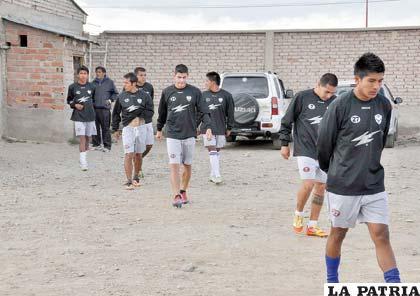 Jugadores de San José retornan a los entrenamientos luego de la reunión con los dirigentes